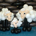 Flock of Balloon Sheep