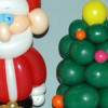 Balloon Christmas Characters