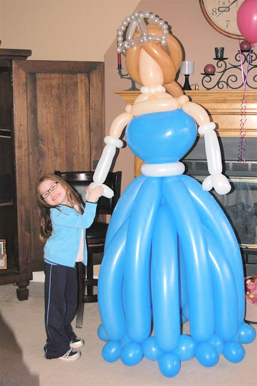 SAMMY J Balloon Creations st louis balloons Princess
