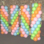 Disco Balloon Columns