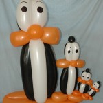 Penguin Family Balloons