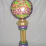 mardi gras centerpiece