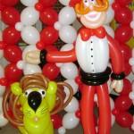Circus Ringmaster & Lion