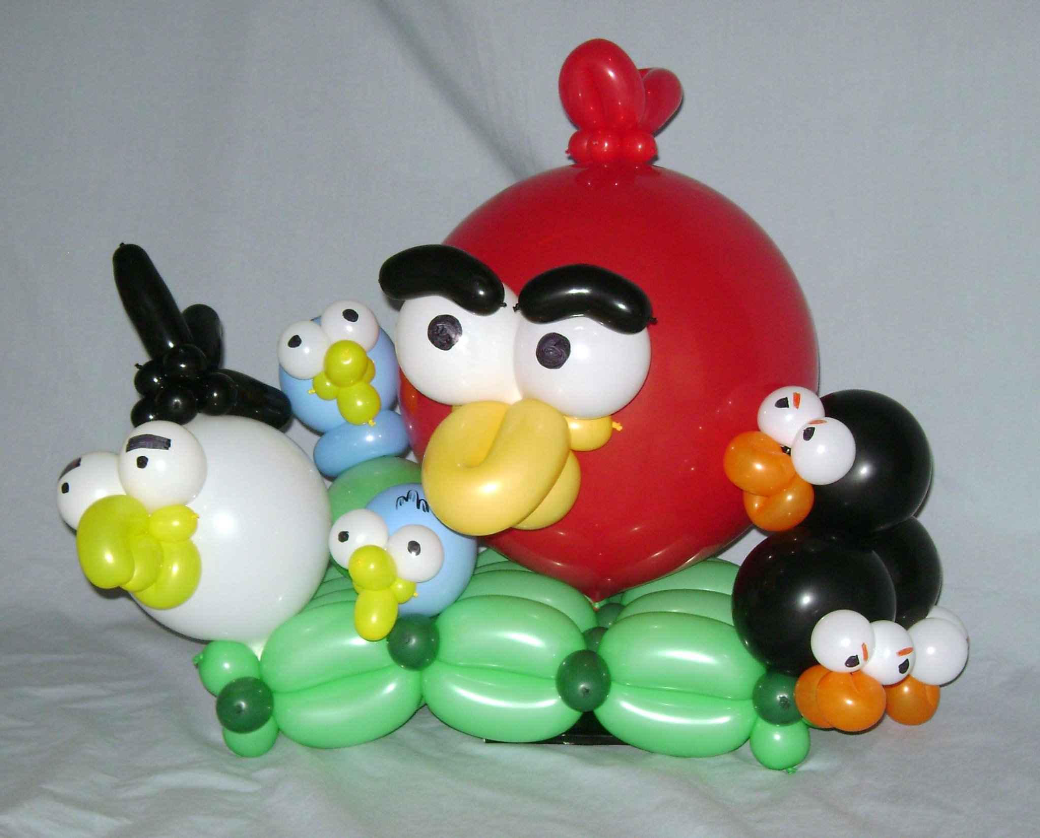 SAMMY J Balloon Creations st louis balloons angry birds