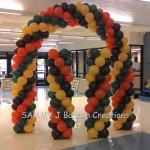 balloon arch & columns