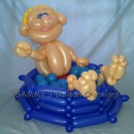 balloon pool man