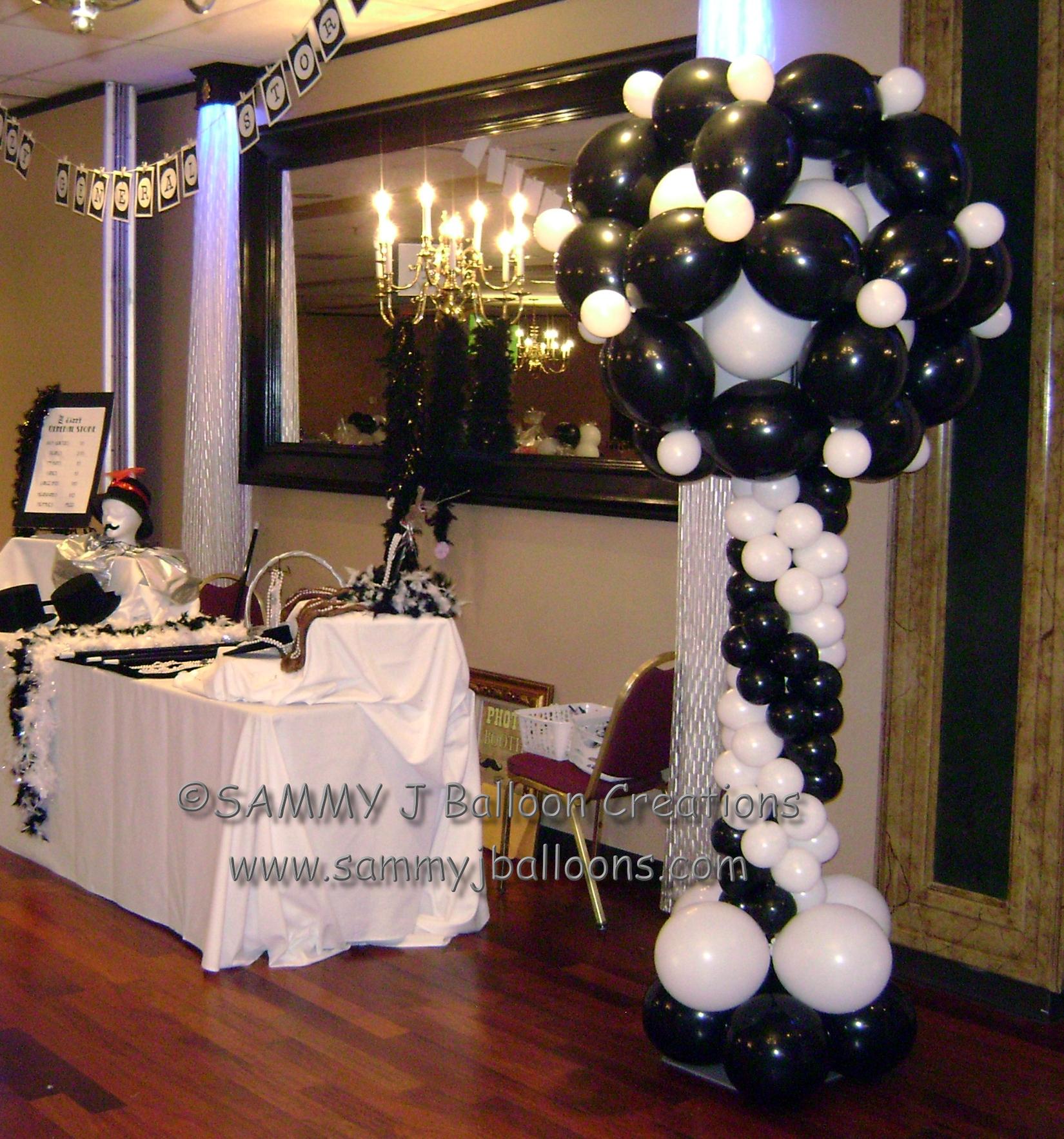 SAMMY J Balloon Creations st louis balloons link o loon topiary column