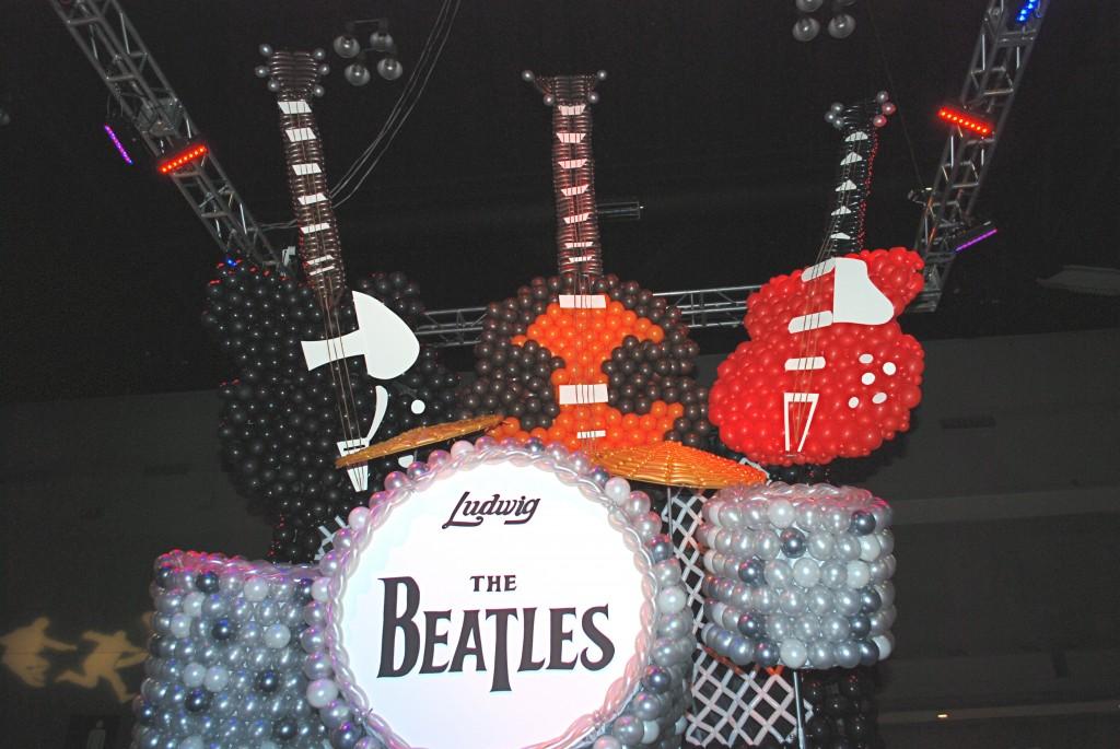 Beatles Balloon Installation