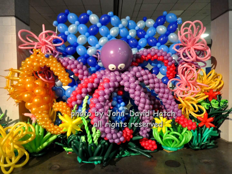 octopus garden balloon