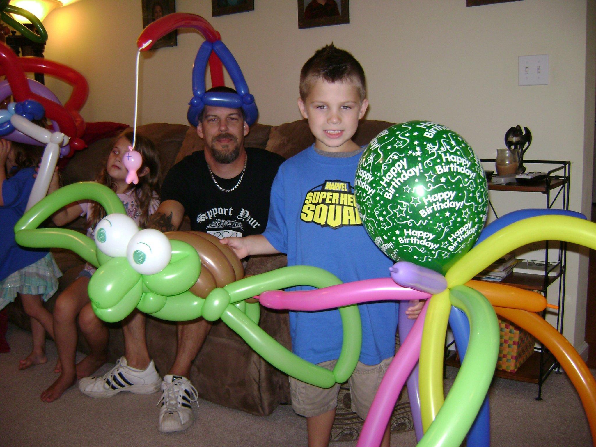 Who Gets A Balloon?