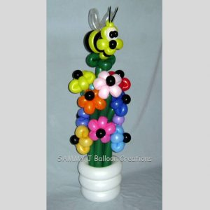 bumblebee bouquet by SAMMY J Balloon Creations