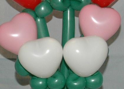 valentine bouquet by SAMMY J Balloon Creations