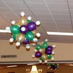 mardi gras knobby balls