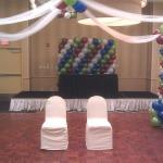dance floor balloons