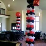 10ft balloon columns
