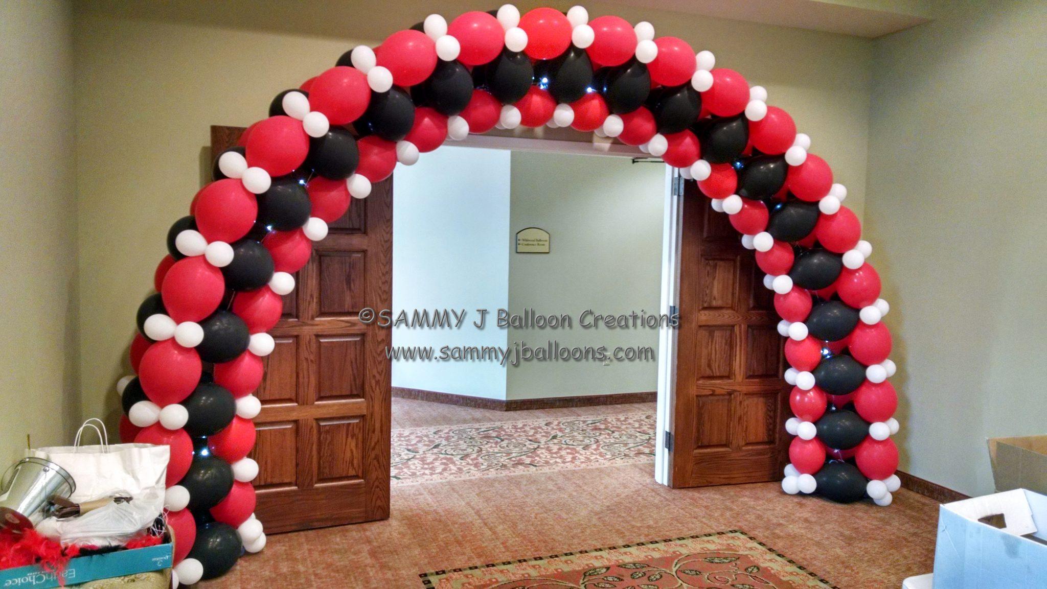 SAMMY J Balloon Creations st louis balloons linkoloon casino arch