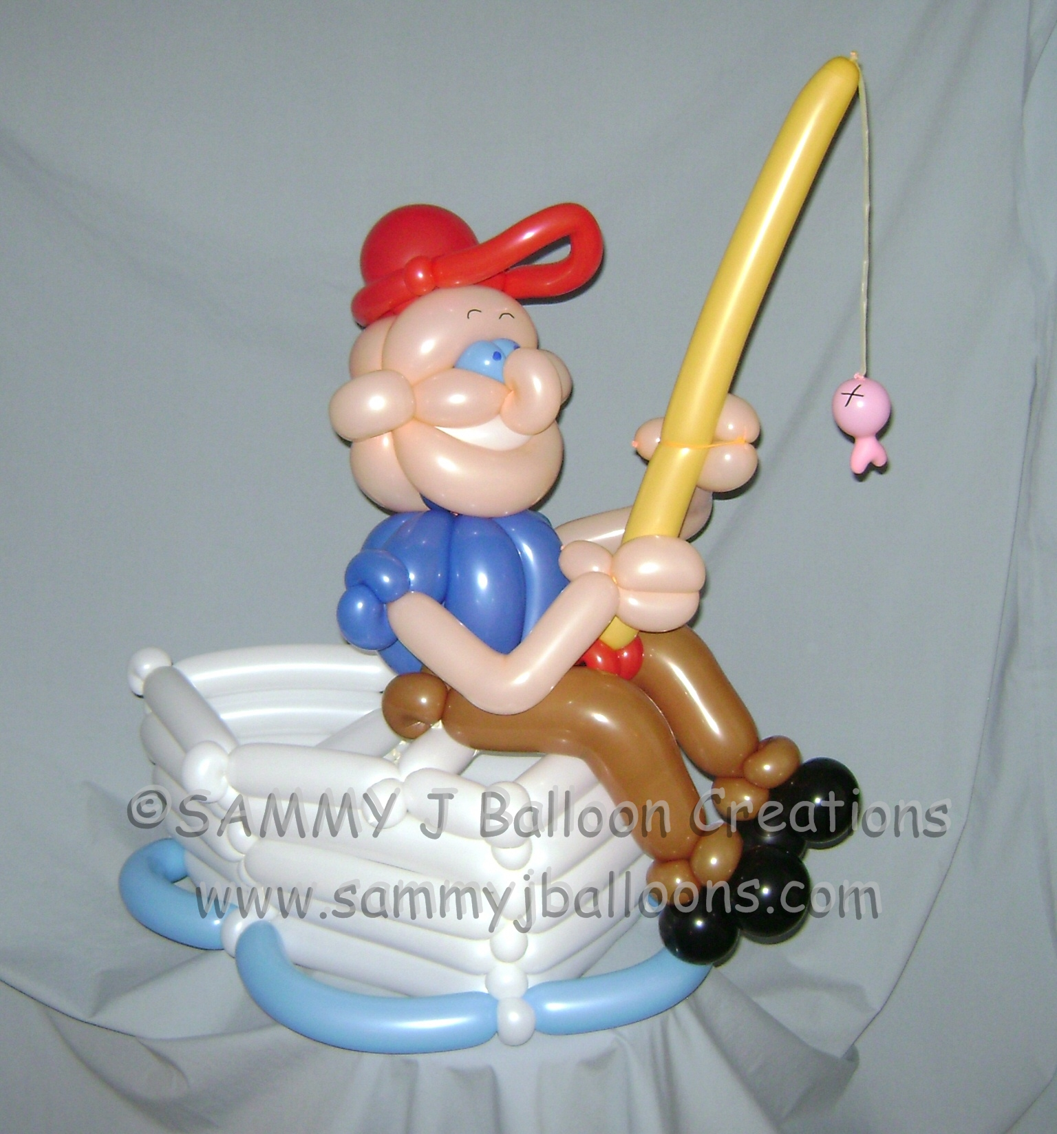 SAMMY J Balloon Creations st louis balloons fishing