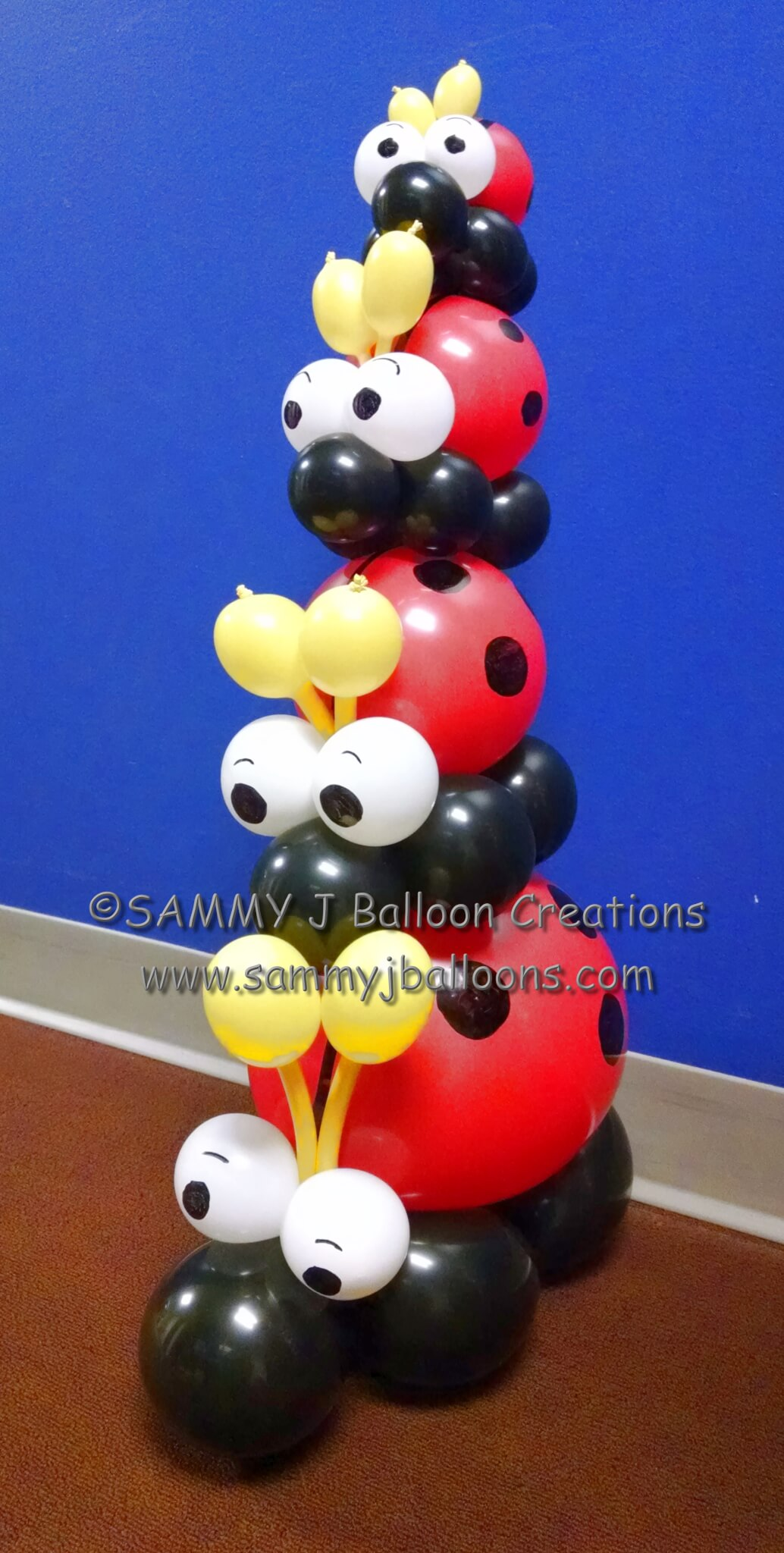 SAMMY J Balloon Creations st louis balloons ladybugs