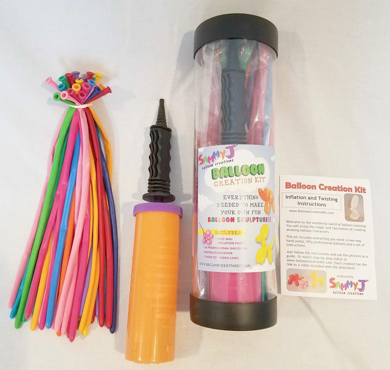 balloon creation kit parts
