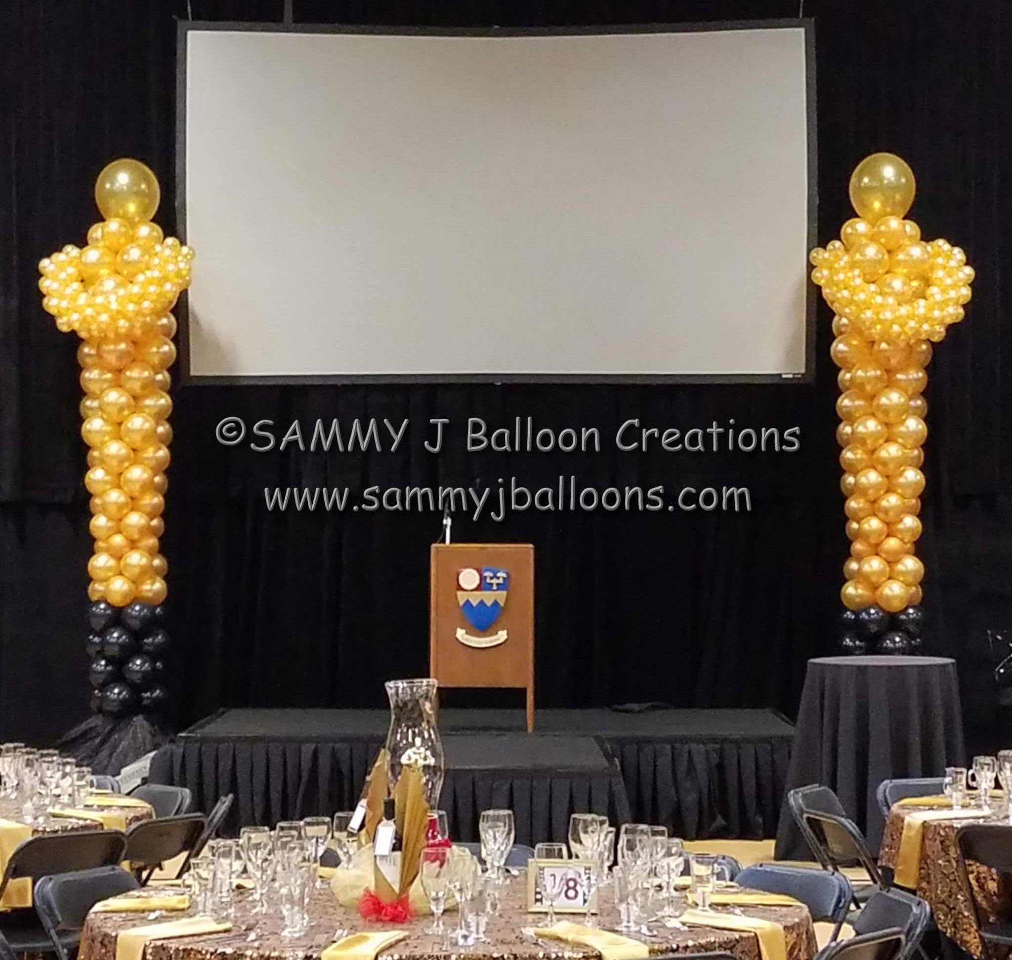 SAMMY J Balloon Creations st louis balloons oscar award statue