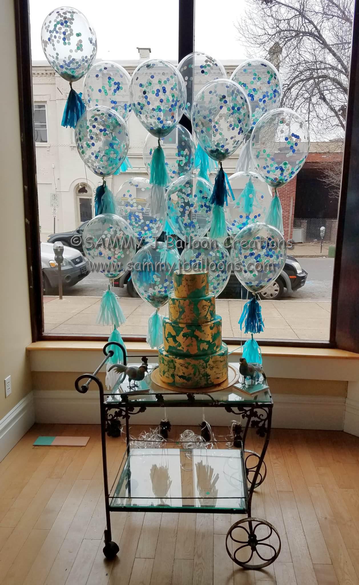 SAMMY J Balloon Creations st louis balloons confetti balloons