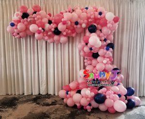 SAMMY J Balloon Creations st louis balloons organic demi arch